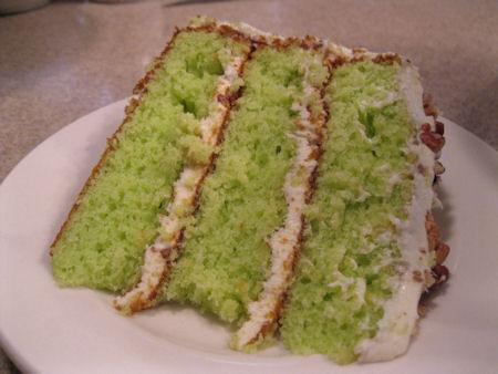 Key Lime Velvet Cake