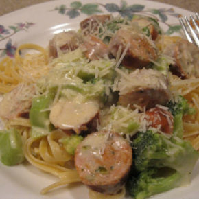Chicken Sausage Linguine