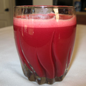 Carrot, Apple and Beet Juice