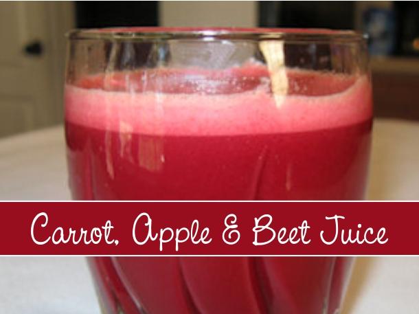 carrot apple beet juice