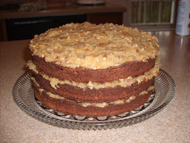 german sweet chocolate cake