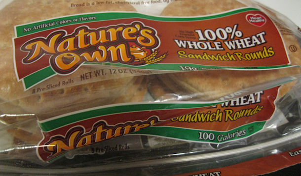 pack of sandwich rounds