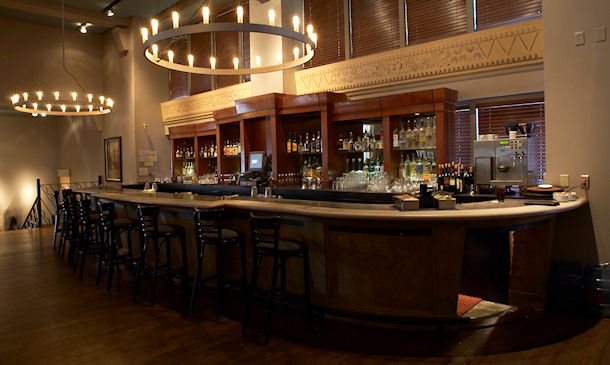 Bar Area - photo by Sara Hanna Photography