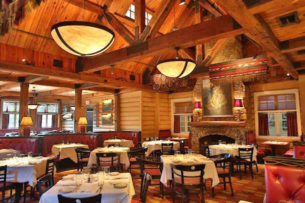 Blue Ridge Grill dining room