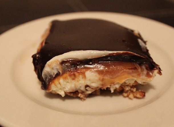 23 dk chocolate caramel crunch