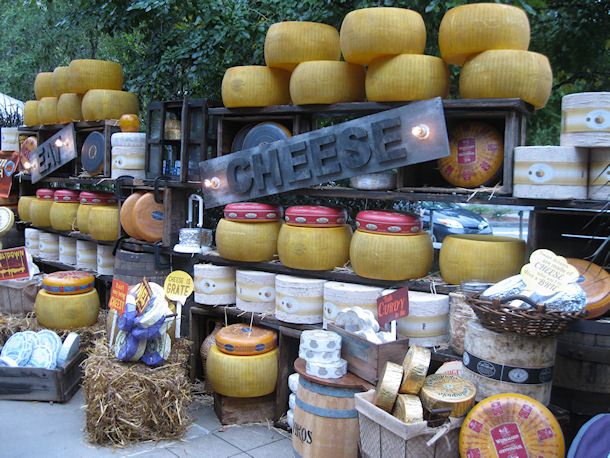 1 Cheese Display at Entrance