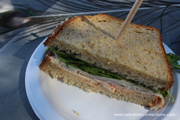3 Turkey and Gouda Sandwich