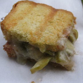 7 grilled cheese meltdown
