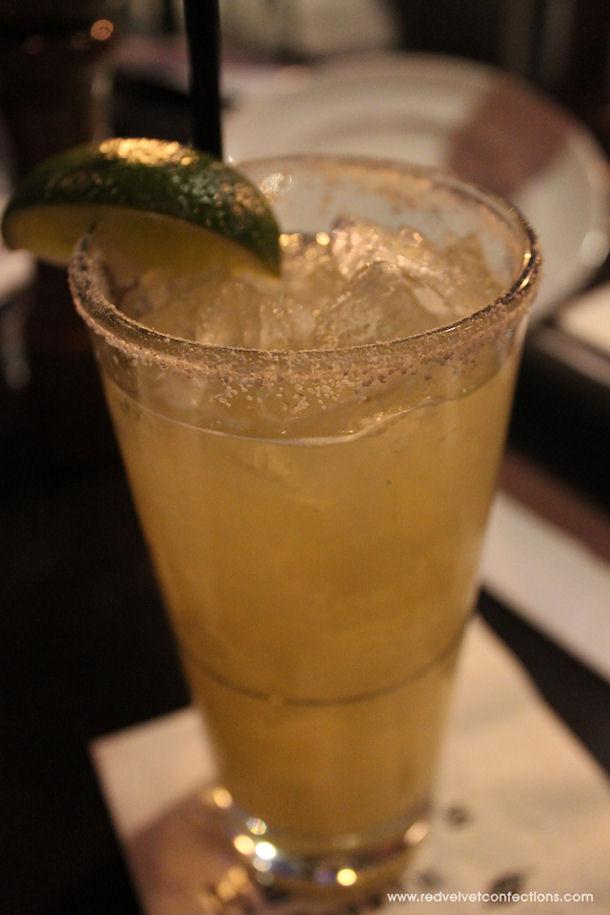 3 Skinny Ginger Margarita