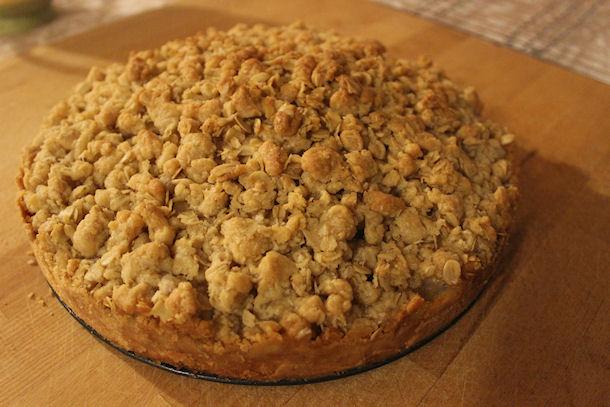 21 pear crumble tart