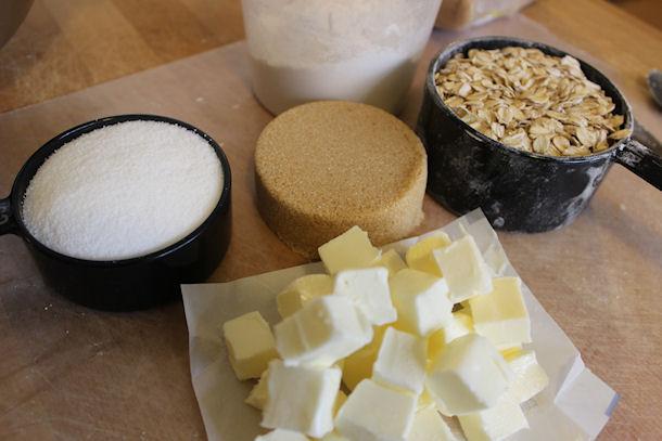 7 streusel ingredients