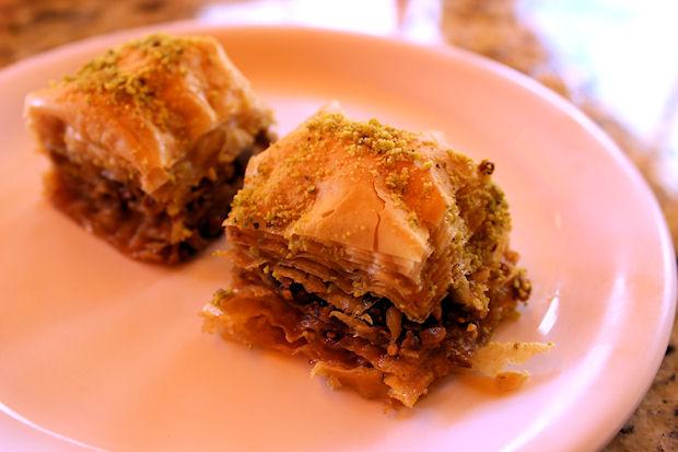 5 pistachio baklava