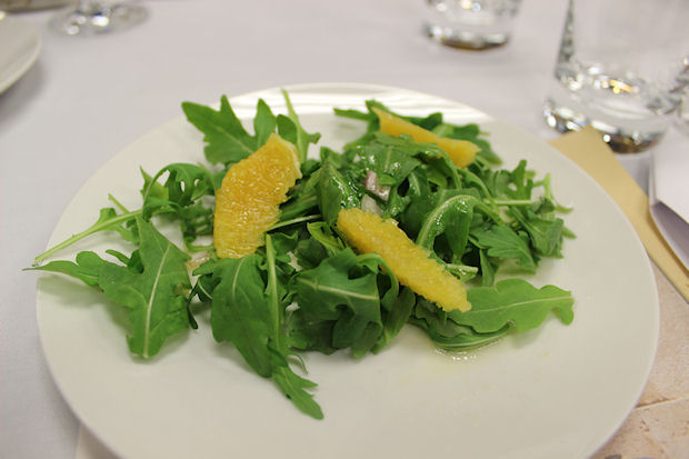 10 orange & arugula salad