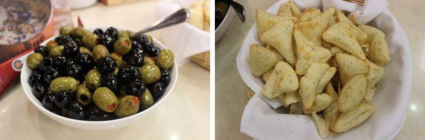 4 olives