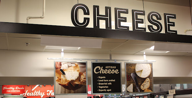 11 cheese sign