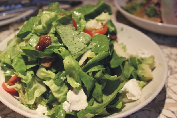 8 chopped salad