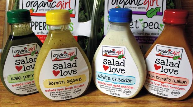 5 organic girl salad dressings