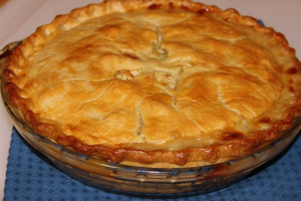 8 chicken pot pie