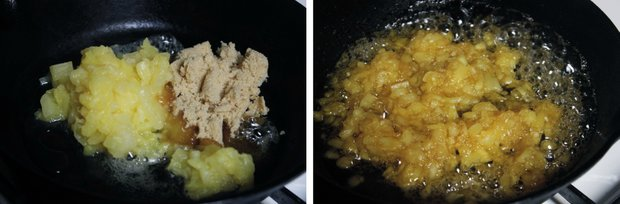 1 pineapple brown sugar