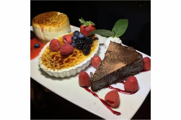 3 dessert