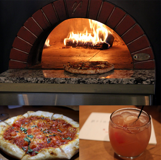 4 pizza oven flatbread cocktail