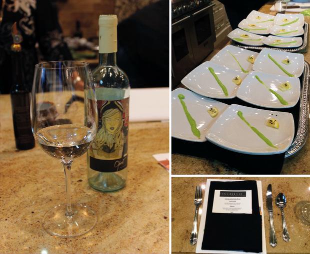 10 wine plates menu