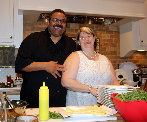 3 Chef Juan and Chef Melissa