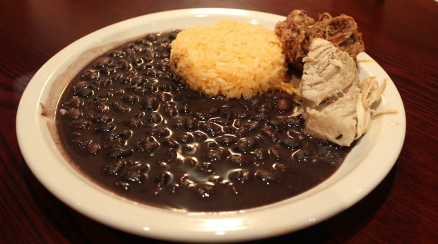 4 black beans and rice