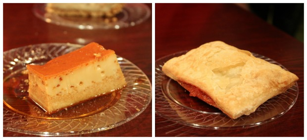 5 classic flan and guava hand pie